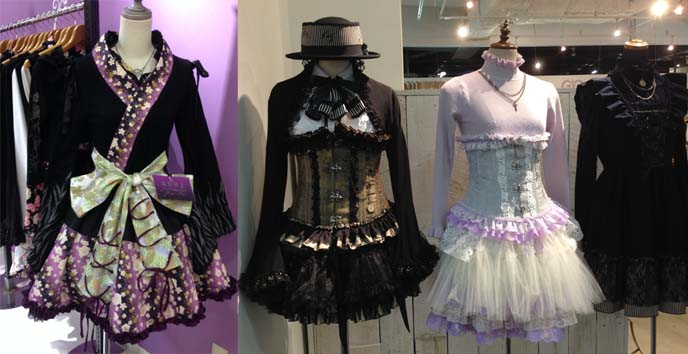 purple gothic lolita dresses
