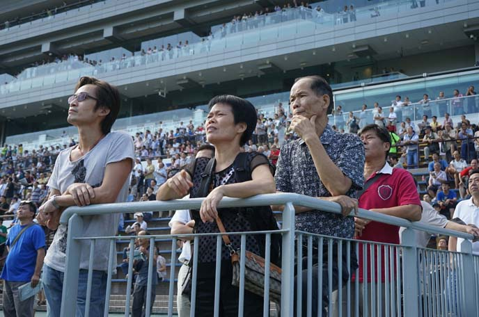 chinese watching horse races bets