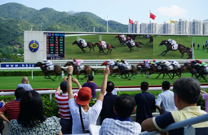 hong kong race course