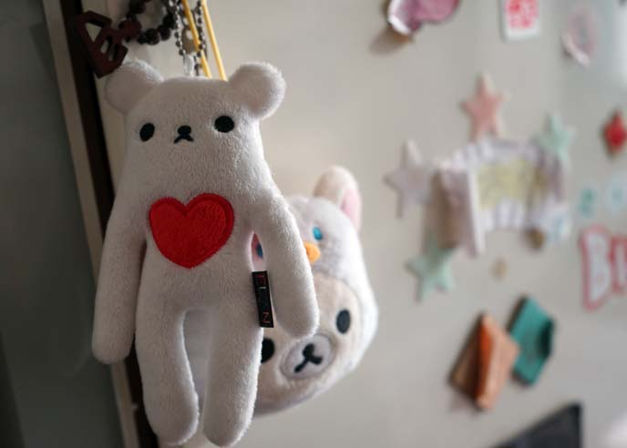 cute asian bear toy