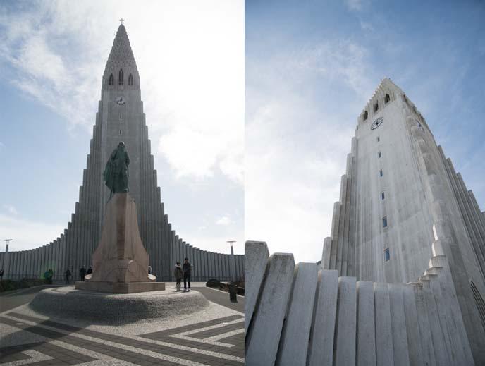 reykjavik iceland famous church hallgrímskirkja