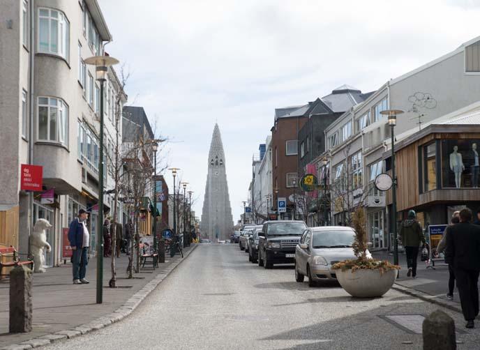 reykjavik city streets
