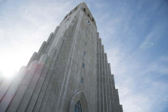hallgrims, famoous iceland church