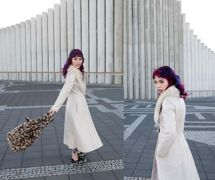 white disco coat, 70s pimp jacket