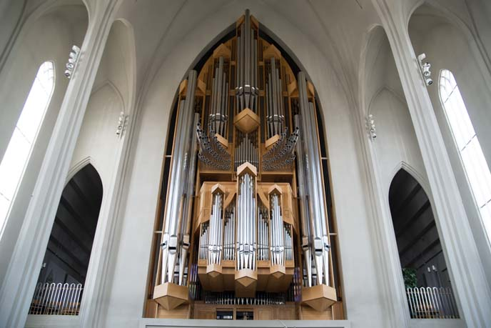 hallgrims pipe organ