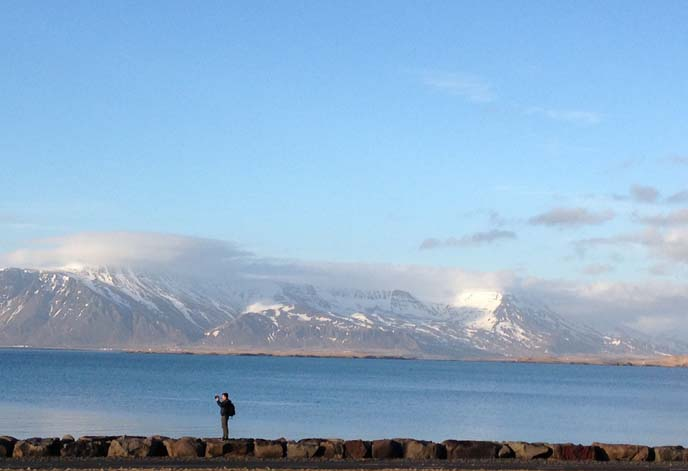 reykjavik mountains, photographer