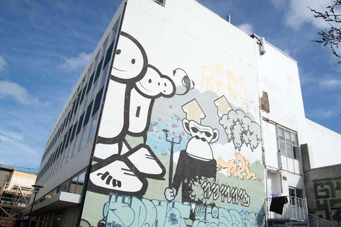 iceland street art big mural