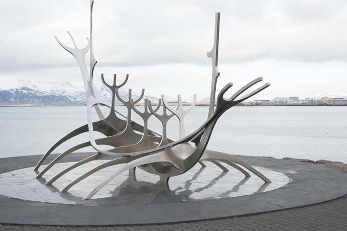 Sun Voyager sculpture iceland, solfar