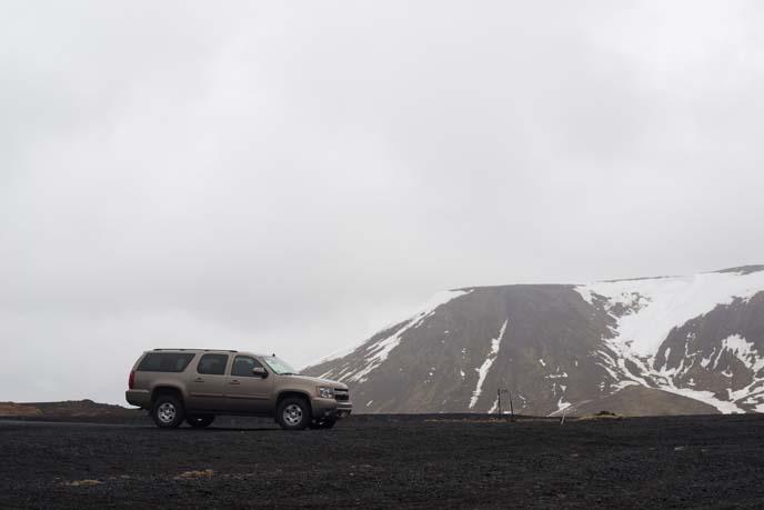 custom driving tour, iceland rental car