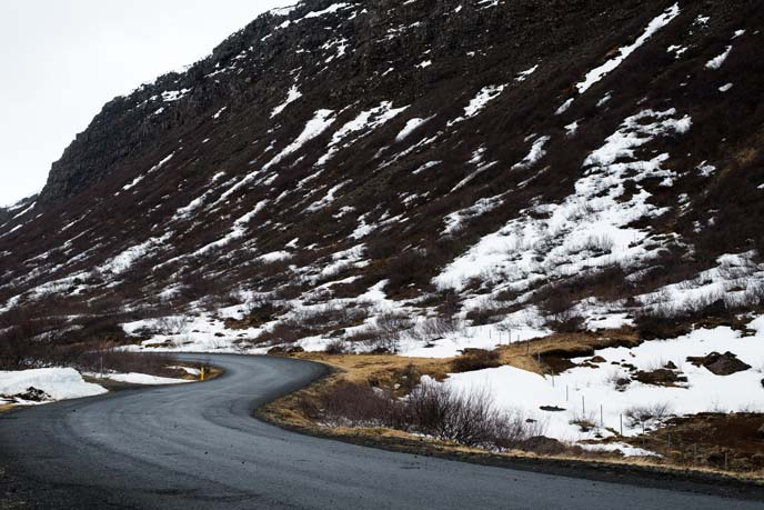 winding roads iceland drive