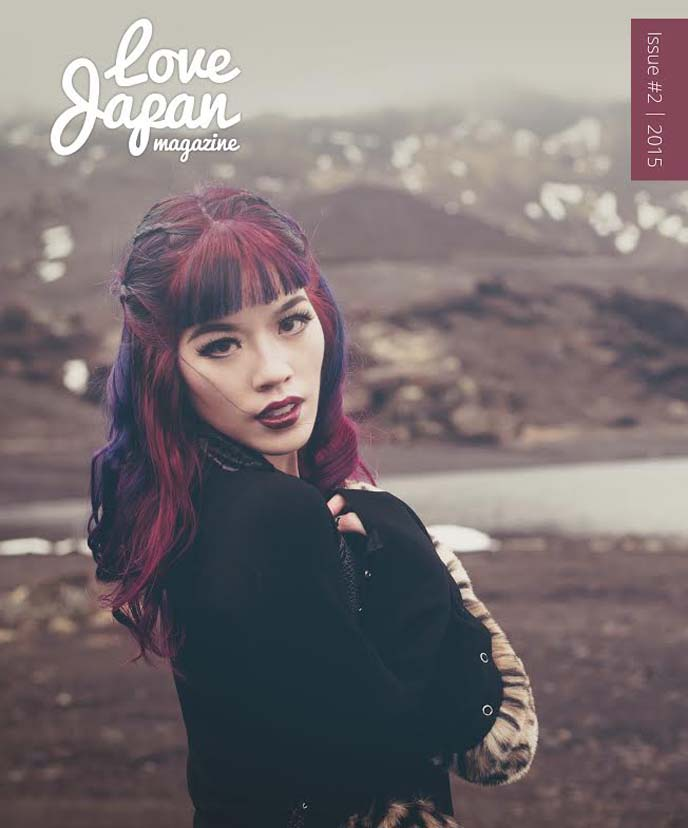 tokyo fashion magazine cover, japan model