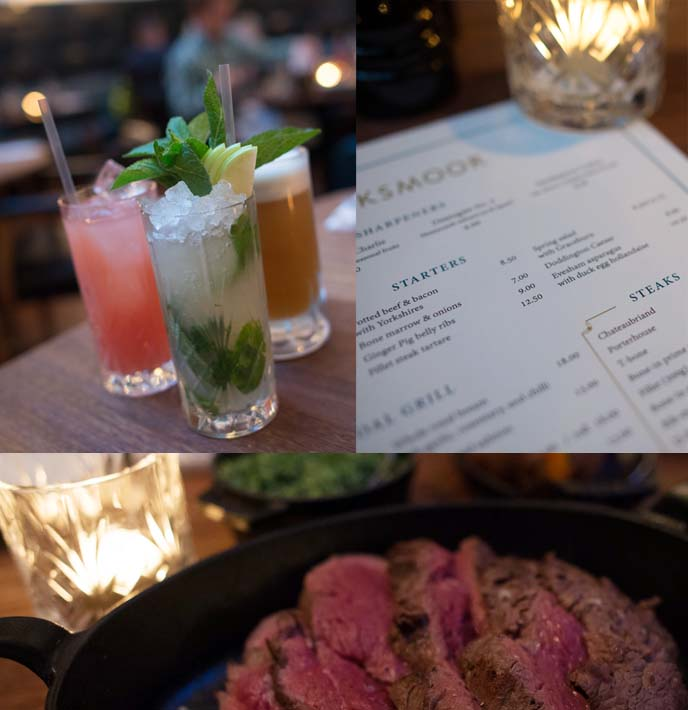 hawksmoor manchester, chateaubriand steakhouse