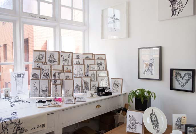 artist galleries, shops northern quarter