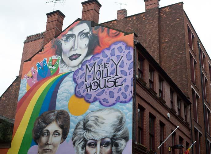 gay drag queen bar, molly house
