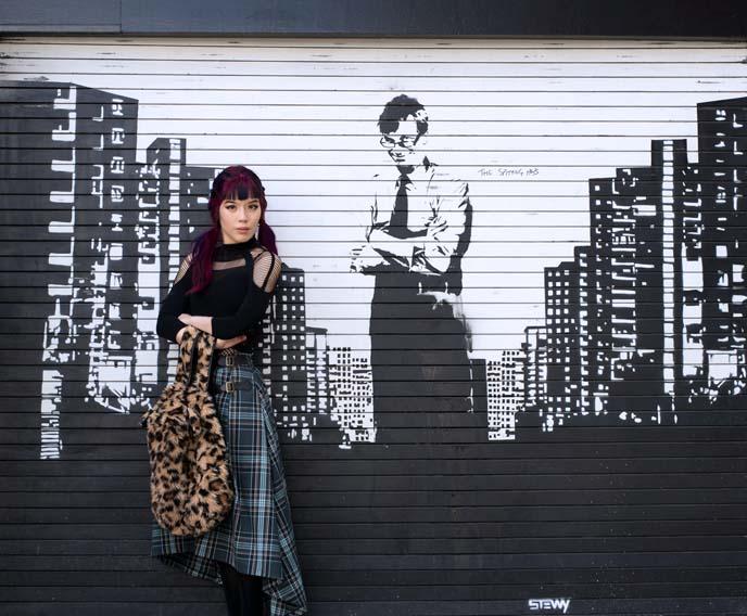 stewy street artist, mr manchester stencil