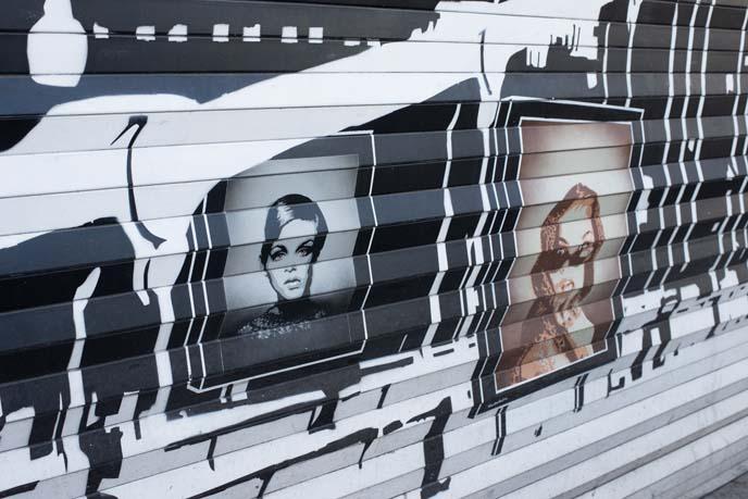 twiggy street art