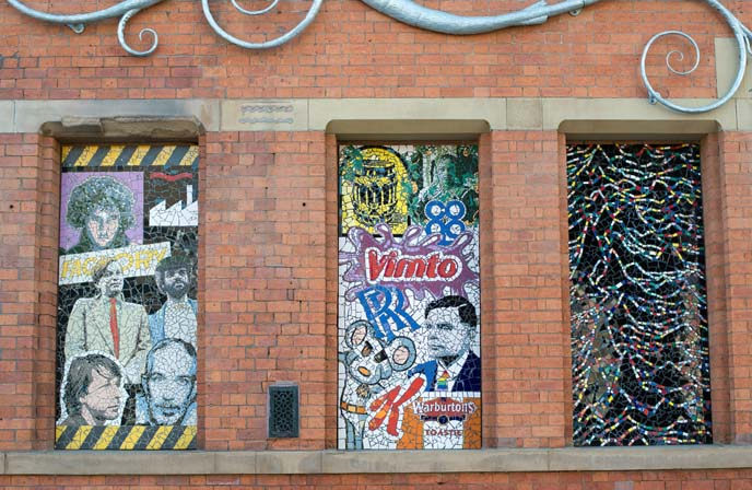 afflecks music tiles, famous manchester bands