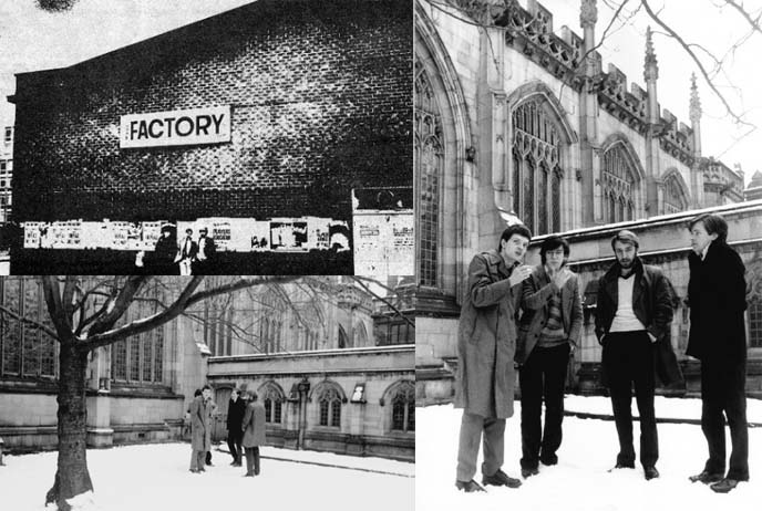 joy division manchester cathedral photoshoot