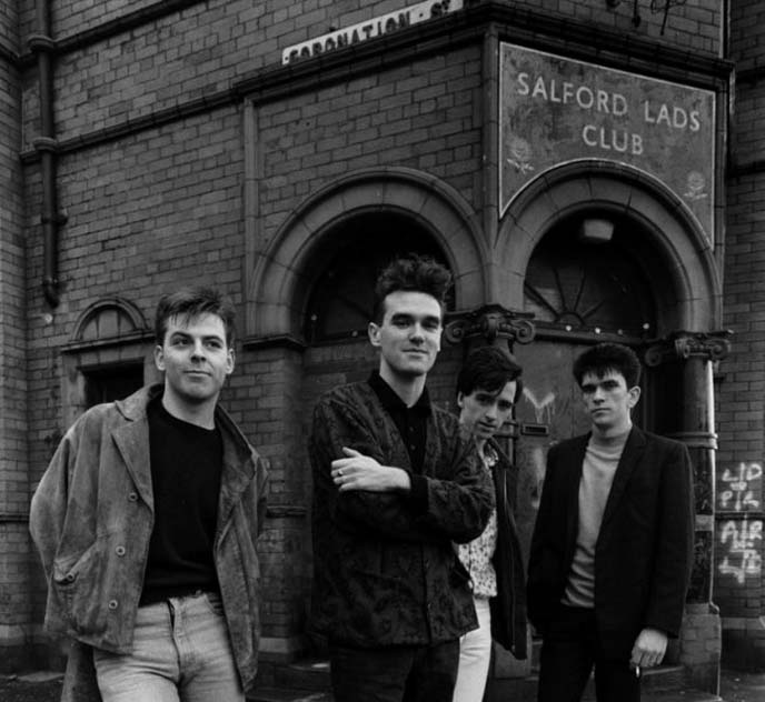 the smiths salford lad clubs, morrissey