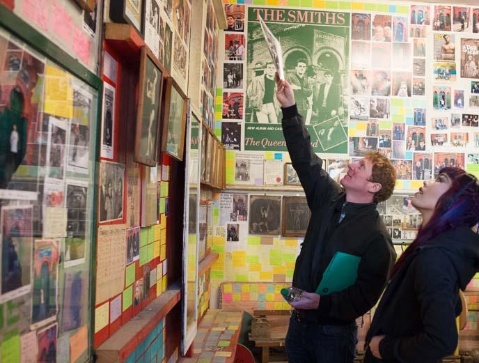 salford lad club smiths room, tshirt
