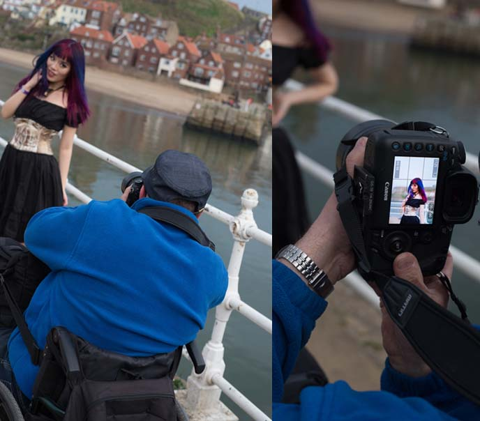 whitby goth photography, costumes