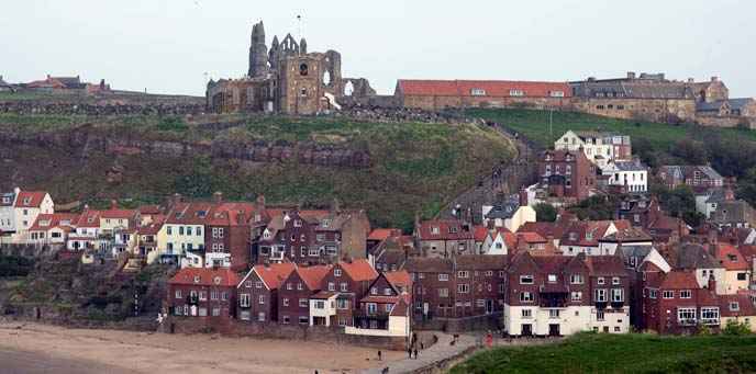 dracula abbey ruins, whitby uk