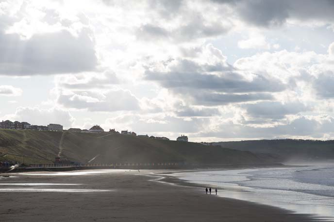 yorkshire beaches, whitby