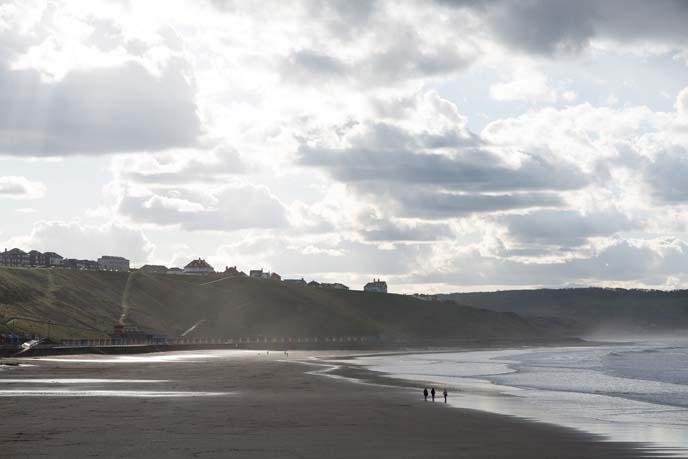 yorkshire beaches, whitby