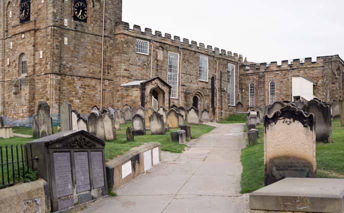 whitby gravestones, cemetery