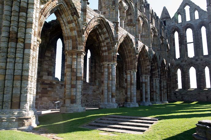 whitby church arches