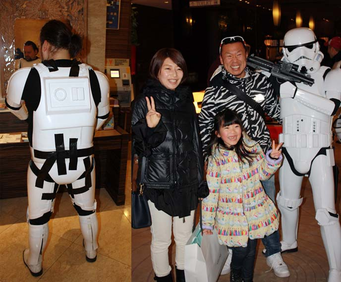 travel channel tokyo tv show, stormtroopers