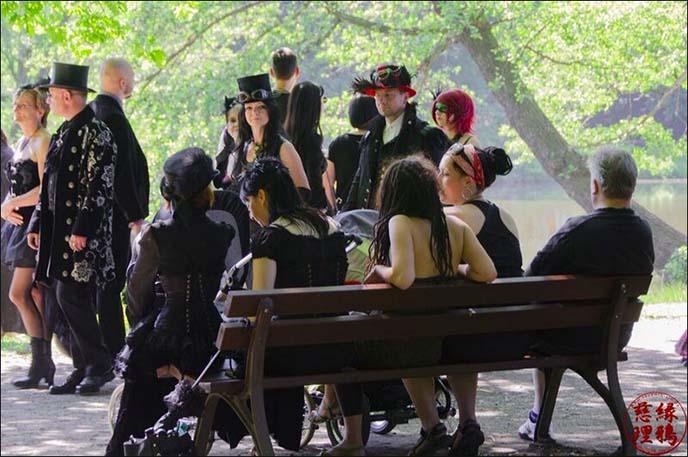 wave gotik treffen victorian picnic