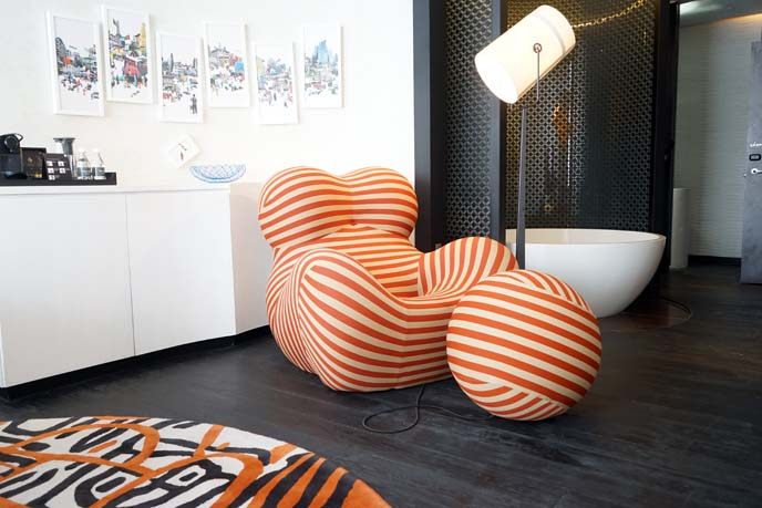 mod furniture, singapore art hotels