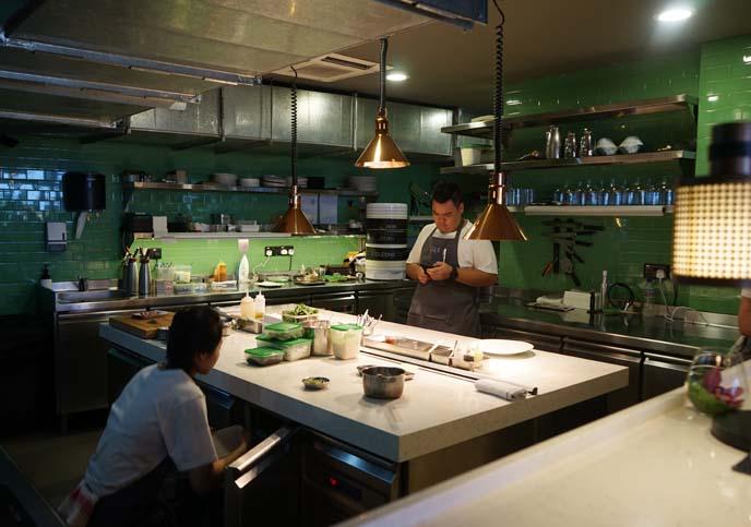 chef ryan clift, open kitchen