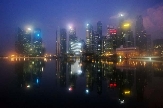 singapore marina view, buildings