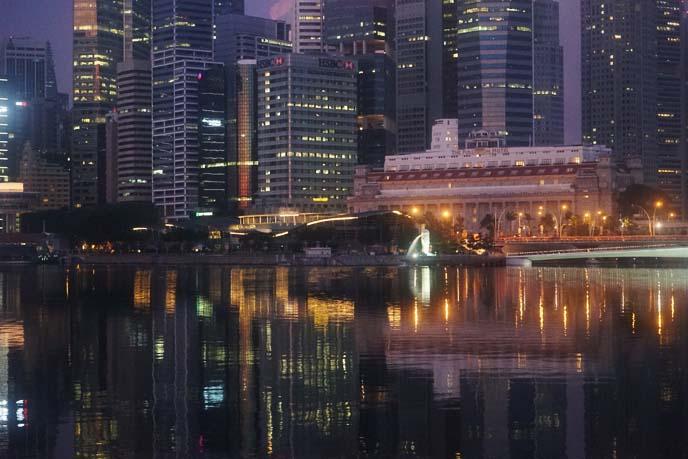 singapore buildings cityscape