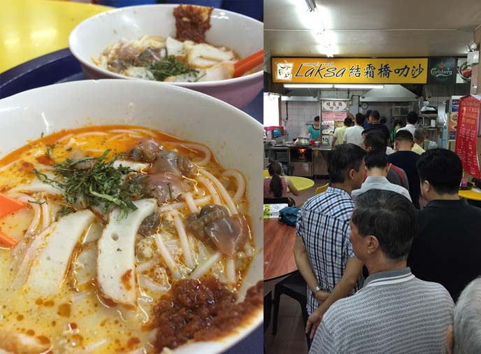 Sungei Road Laksa, best singapore laksa