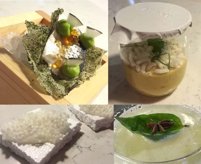 singapore molecular gastronomy restaurant