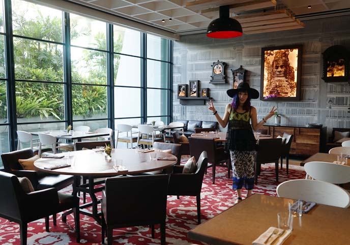celebrity chef dining, marina bay sands