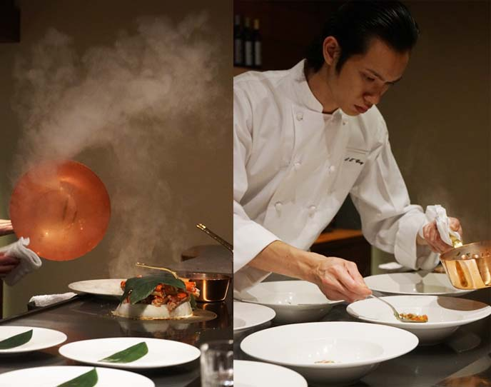 luxury japanese Degustation menu