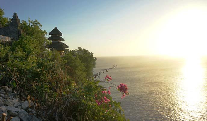 uluwatu pura, ocean temple