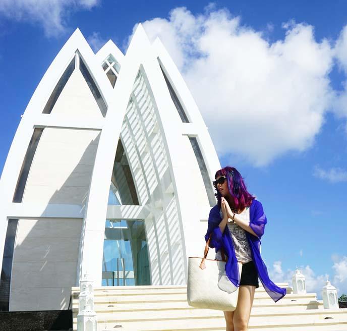 futuristic space ship church