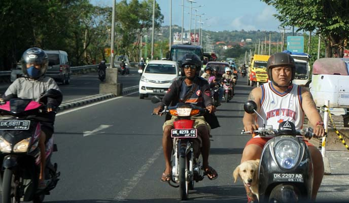 bali motorcycles, scooters