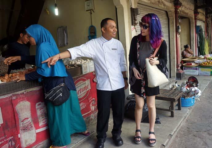 jimbaran market, food vendors