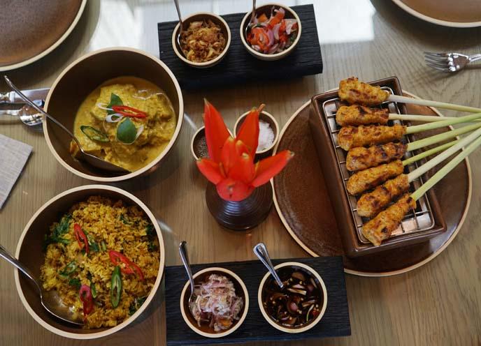 bejana restaurant, authentic indonesian cuisine