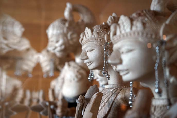 bali dancer sculptures