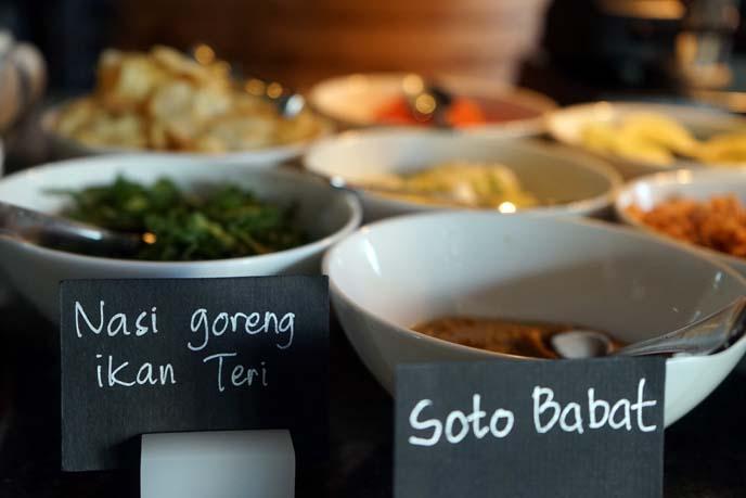 indonesian vegetarian food, bali