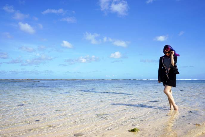 best bali untouched beach