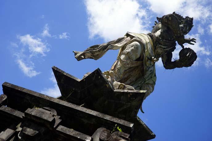 hindu indian statue ubud