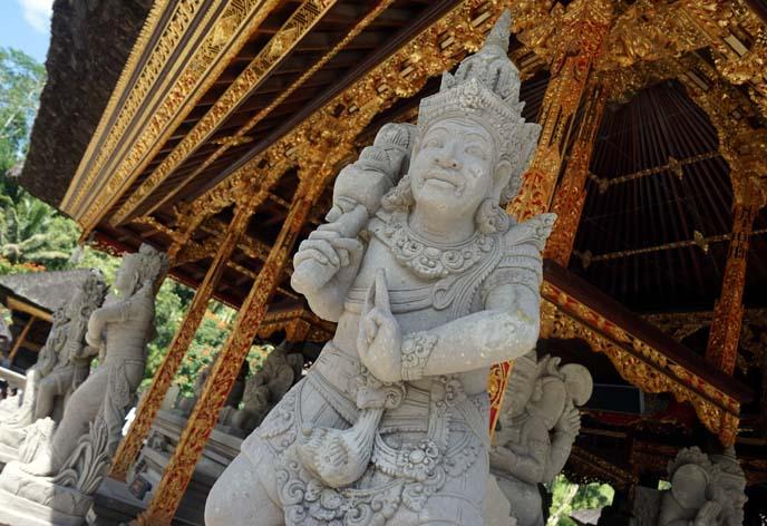 balinese warrior statues